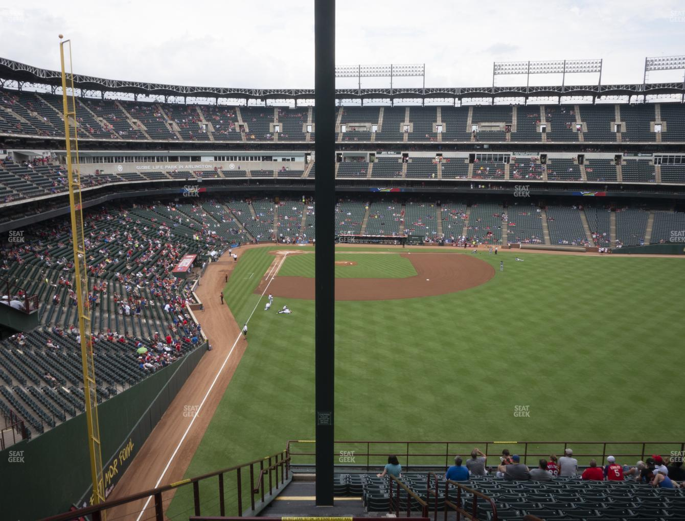 Concert at Globe Life Park Section 246 View