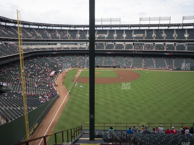 Globe Life Park Section 246 view