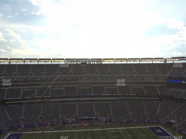 MetLife Stadium Section 314 view