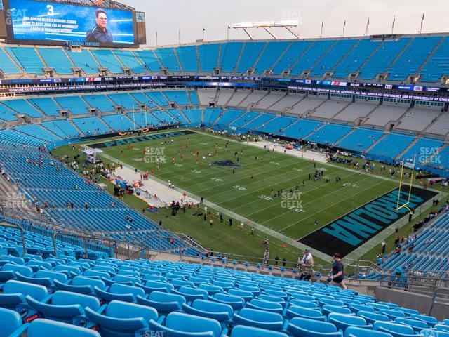 Bank of America Stadium Section 508 view