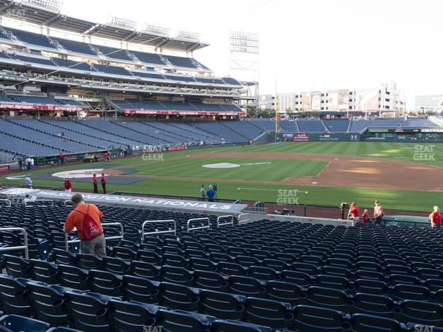 Nationals Park Section 132 view