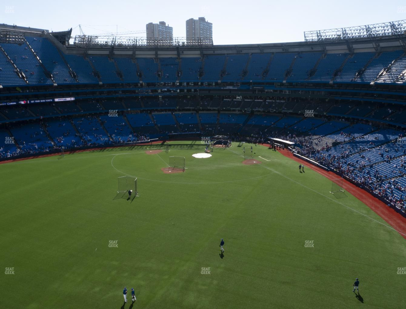 Toronto Blue Jays at Rogers Centre Section 544 R View