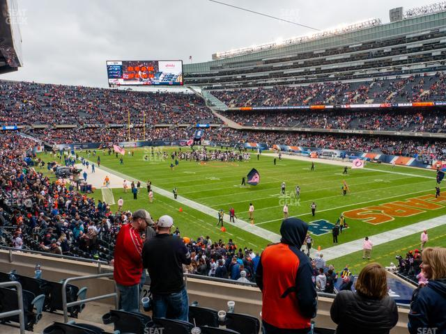 Soldier Field Section 228 view