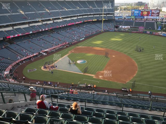 Angel Stadium of Anaheim Section 529 view