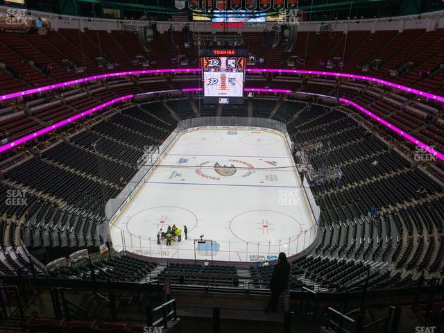 Honda Center Section 422 view