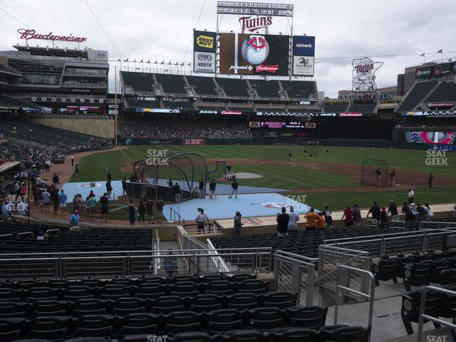 Target Field Section 111 view