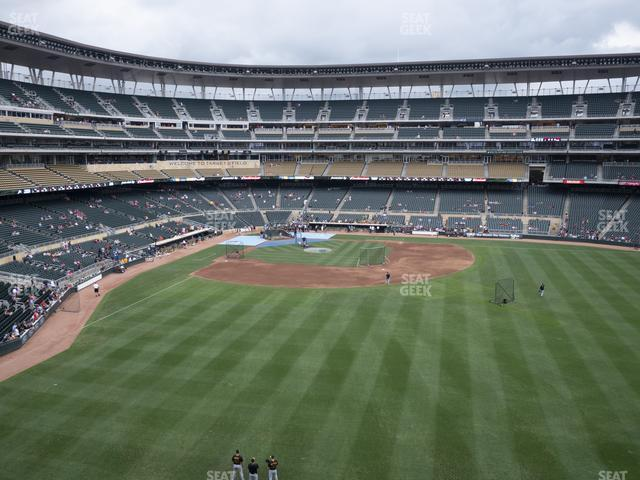 Target Field Section 240 view