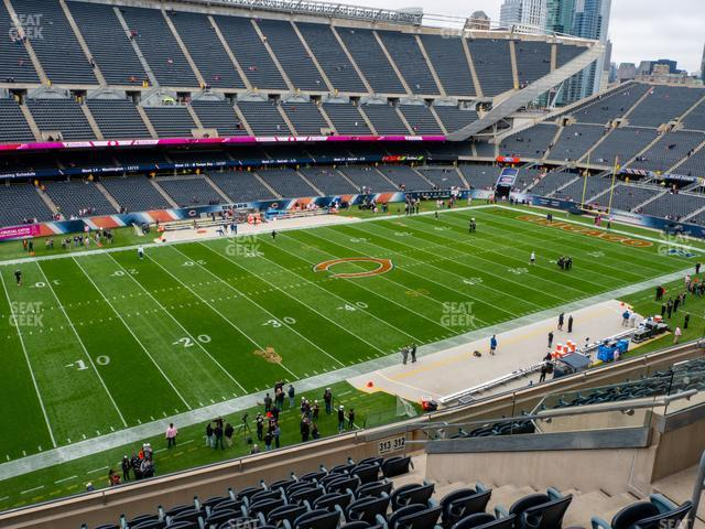 Soldier Field Section 313 view