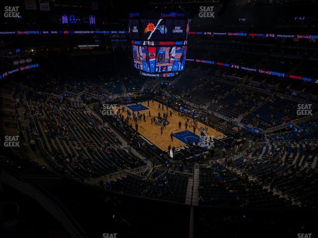 Amway Center Section 220 view