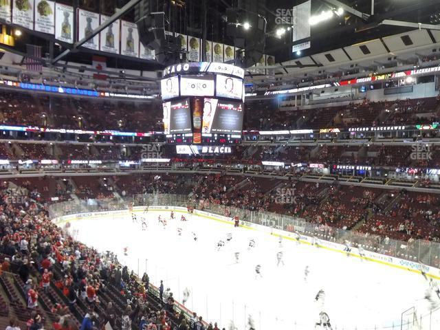 United Center Section 230 view
