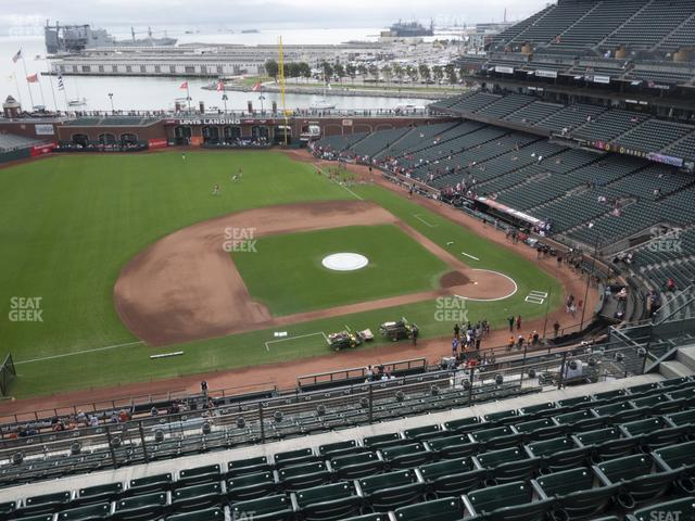 Oracle Park Section 324 view