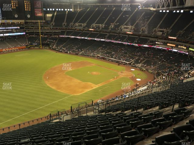 Chase Field Section 327 view