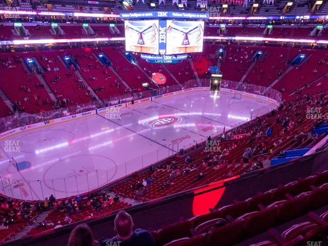 Bell Centre Section 204 view