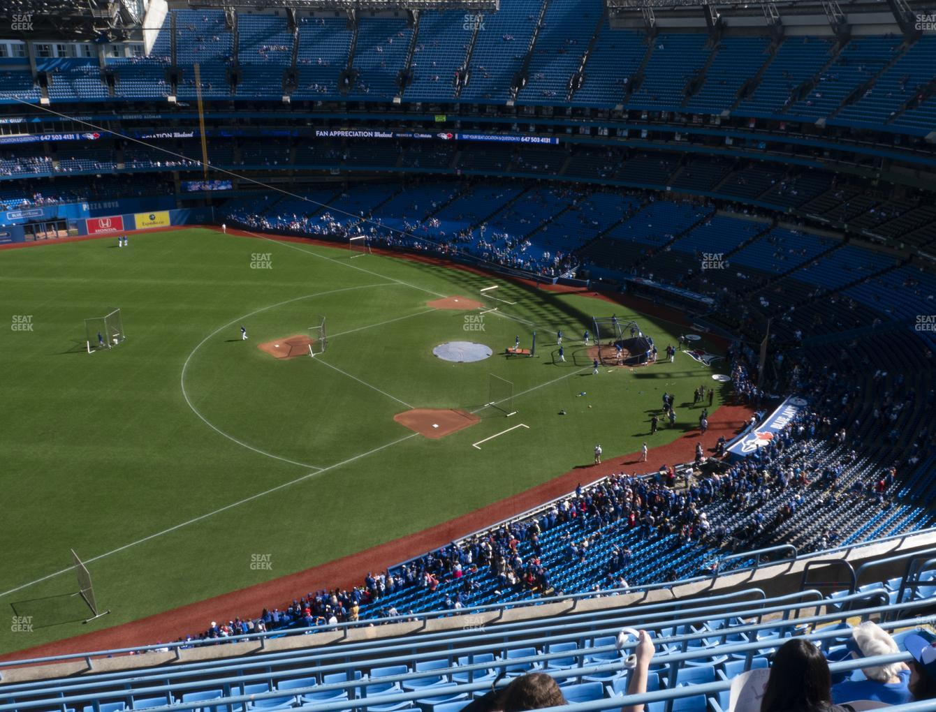 Toronto Blue Jays at Rogers Centre Section 534 L View