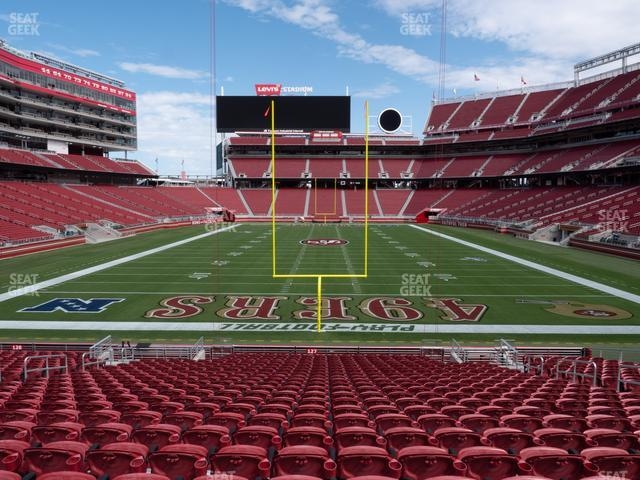 Levi's Stadium Section 127 view