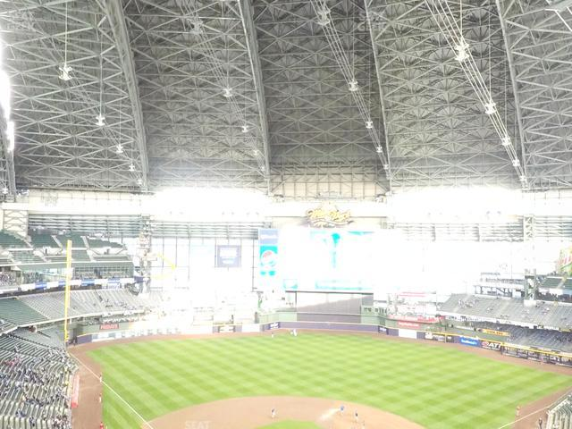 Miller Park Section 421 view