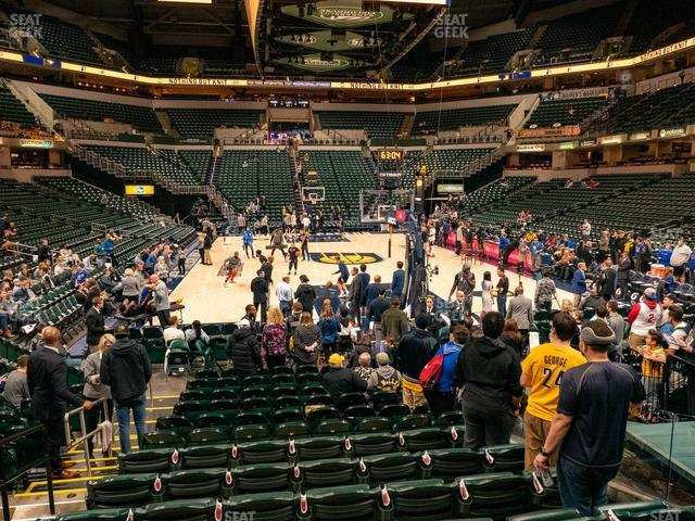 Bankers Life Fieldhouse Section 11 view