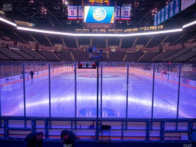 Nassau Veterans Memorial Coliseum Section 24 view
