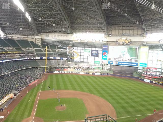 Miller Park Section 417 view