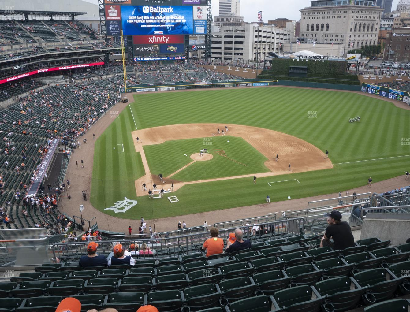 Detroit Tigers at Comerica Park Section 324 View