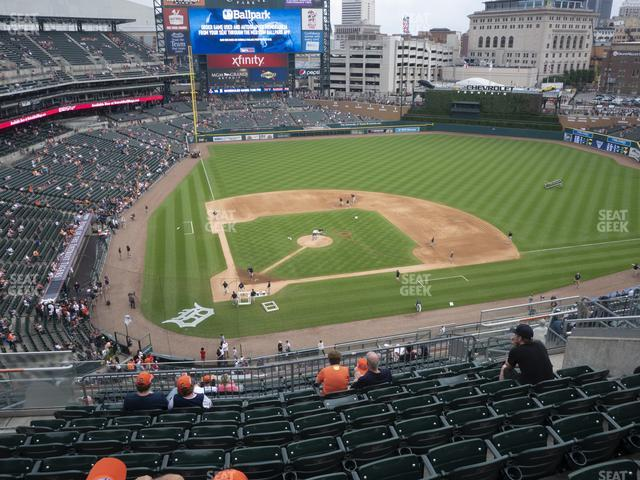 Comerica Park Section 324 view