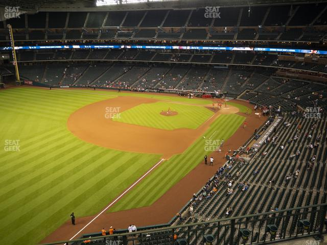 Minute Maid Park Section 306 view