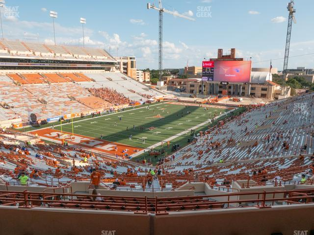Darrell K Royal - Texas Memorial Stadium Touchdown Club 13 C view