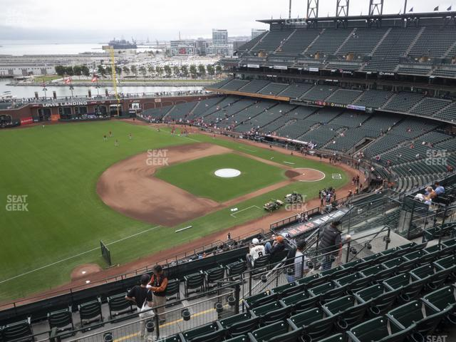 Oracle Park Section 327 view