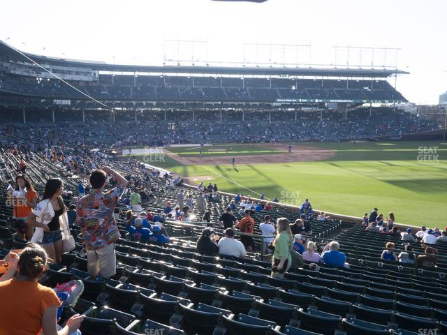 Wrigley Field Section 232 view