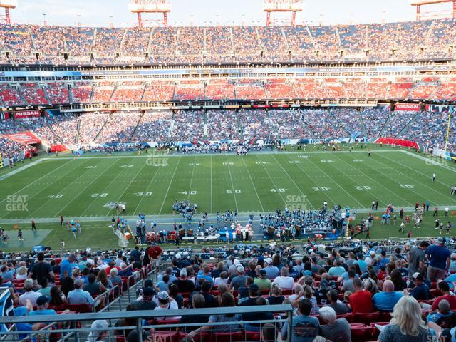 Nissan Stadium Section 235 view