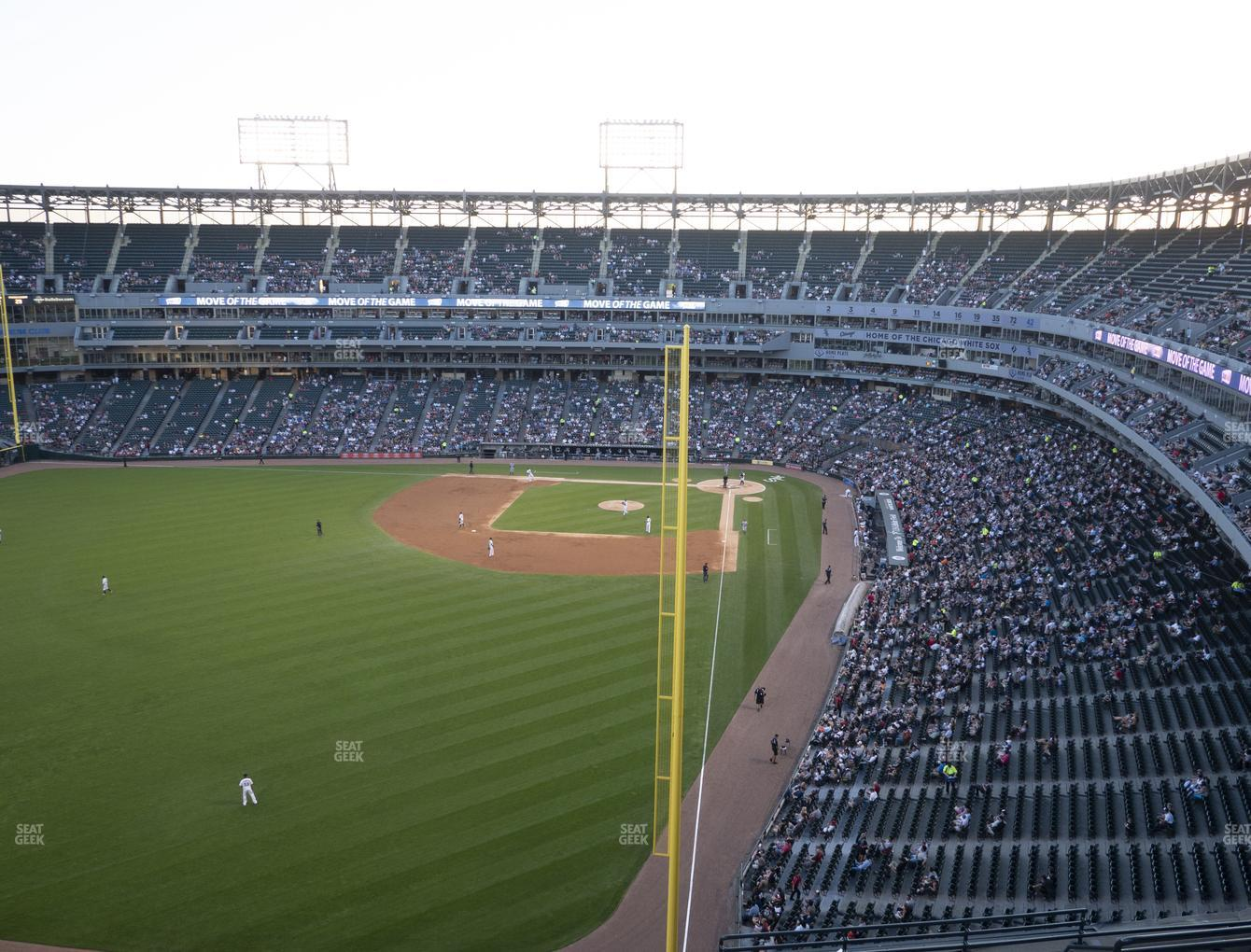 Chicago White Sox at Guaranteed Rate Field Section 558 View