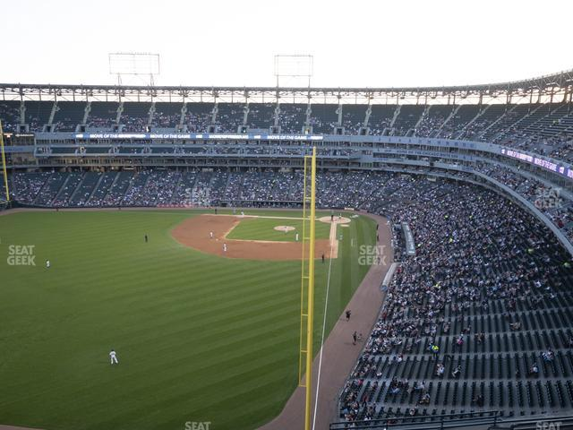 Guaranteed Rate Field Section 558 view