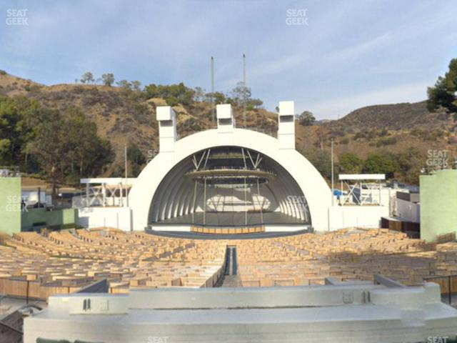 Hollywood Bowl Section G 1 view
