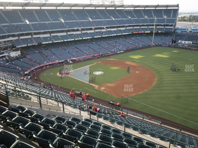 Angel Stadium of Anaheim Section 531 view
