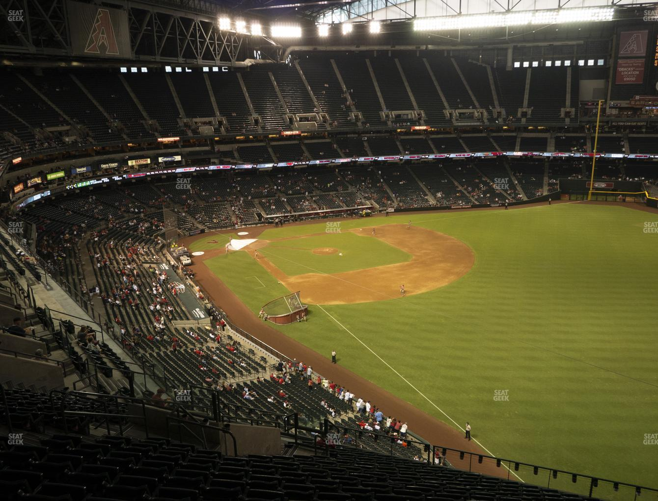 MLB at Chase Field Section 301 View