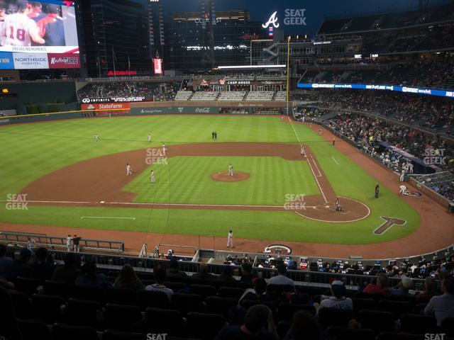 SunTrust Park Section 230 view