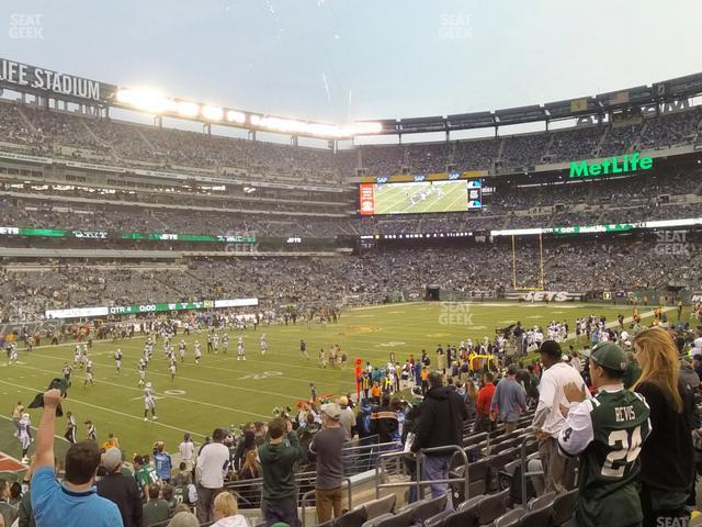 MetLife Stadium Section 144 view