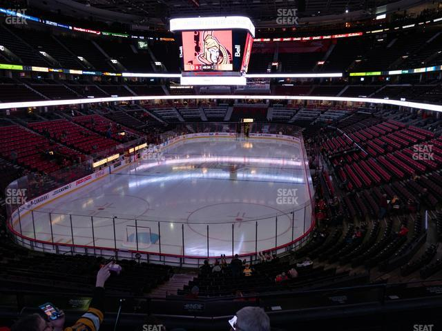 Canadian Tire Centre Section 228 view