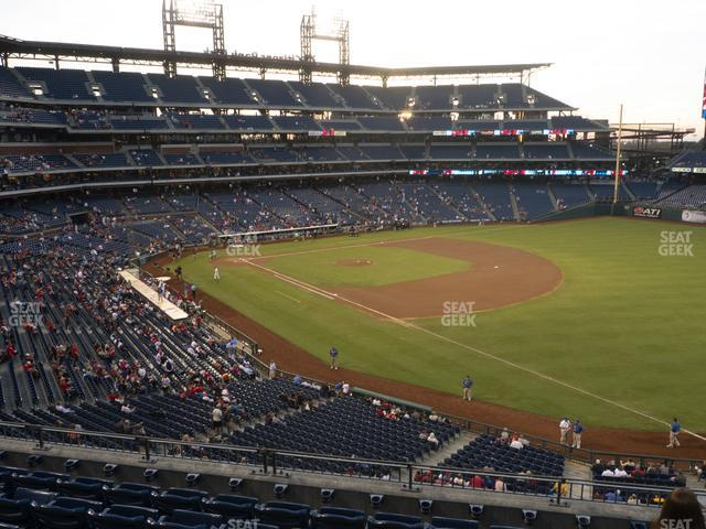 Citizens Bank Park Section 209 view