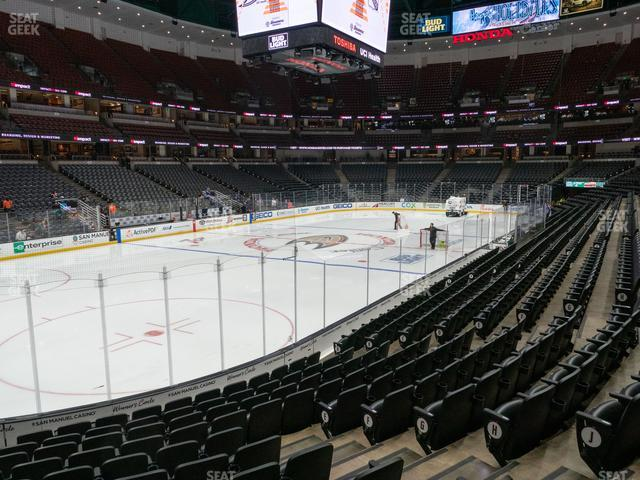 Honda Center Section 226 view
