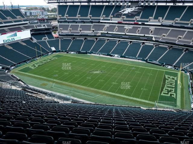 Lincoln Financial Field Section 228 view