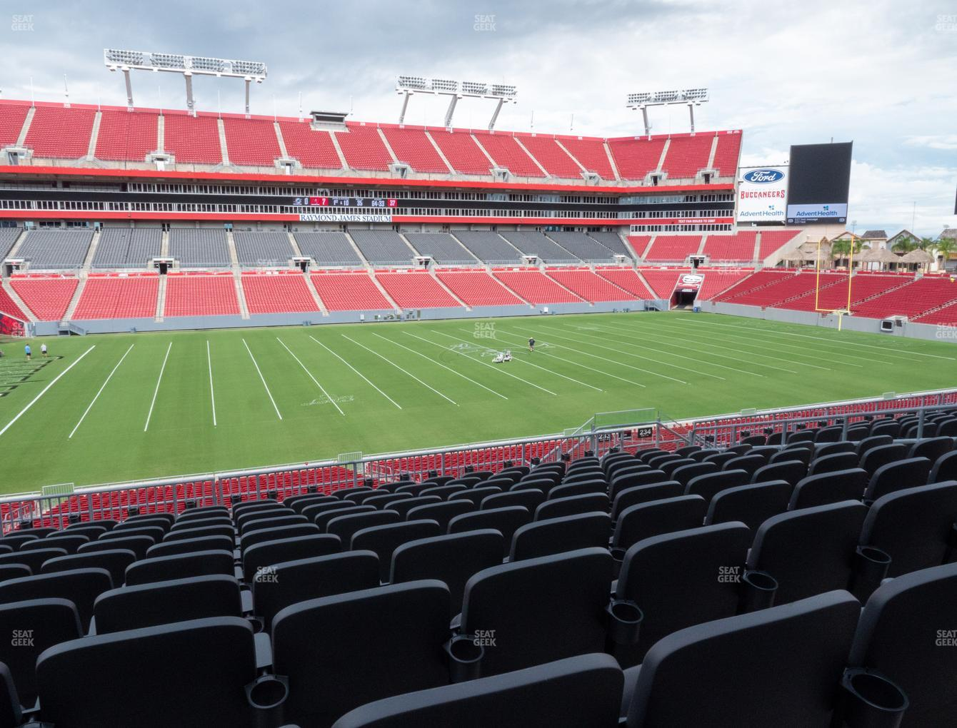 Raymond James Stadium Section 233 Seat Views Seatgeek