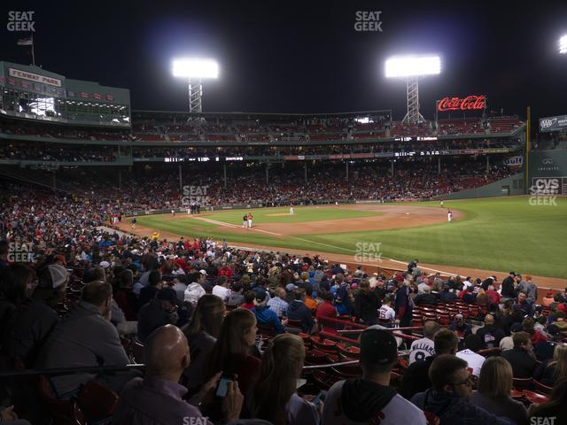 Fenway Park Right Field Box 95 view