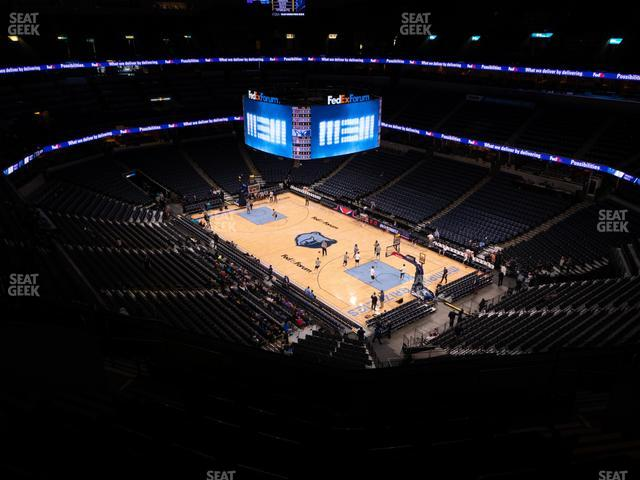 FedExForum Section 229 view
