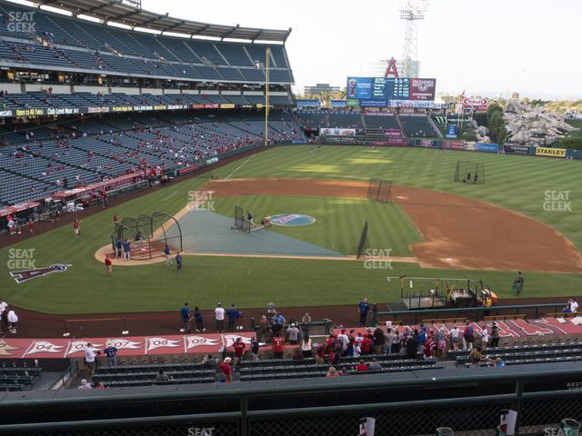 Angel Stadium of Anaheim Section 333 view