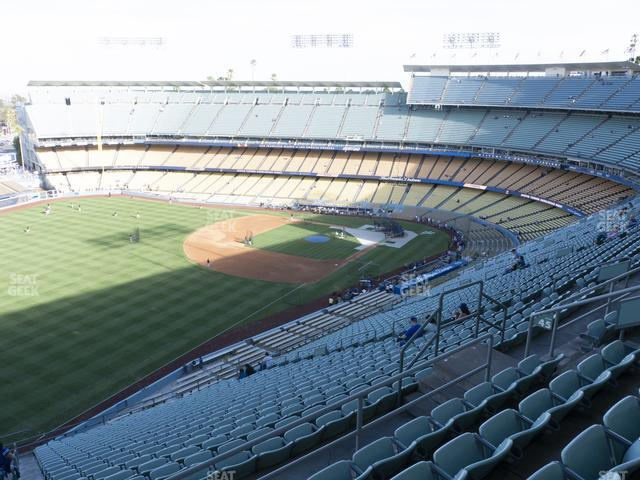 Dodger Stadium Reserve 45 view