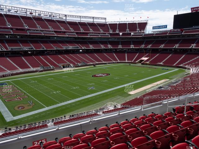 Levi's Stadium Section 245 view