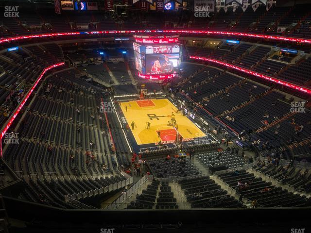 Capital One Arena Section 424 view