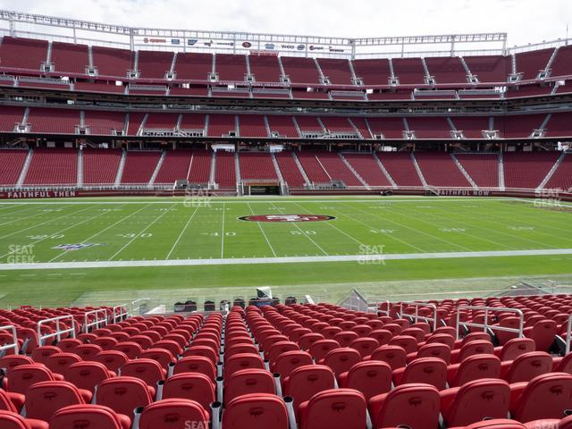 Levi's Stadium Section C 139 view
