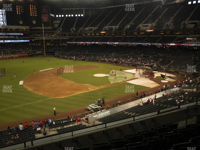Chase Field Section 215 view